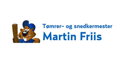 Tømrer- og snedkermester Martin Friis logo